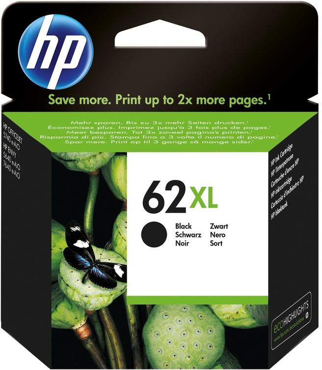 HP 62XL zwart