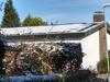 Panelen in de sneeuw