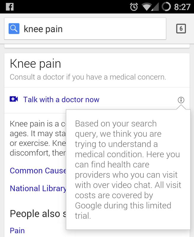 Googles digitale doktersbezoeken
