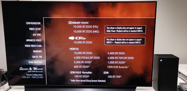 Xbox Series X en Dolby Vision