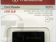 Transcend RDF5 USB3.0 Card Reader TS-RDF5K