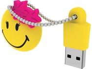 Emtec Smiley World Miss Hawaii 8GB Geel