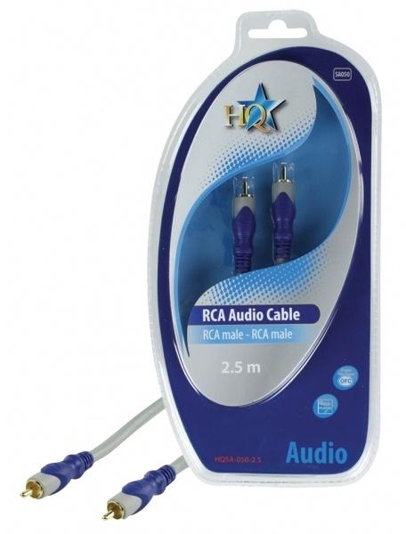 HQ Products RCA/RCA, 2.5m