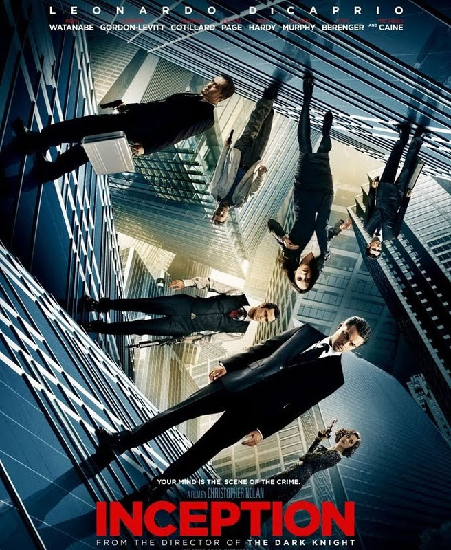 Filmposter Inception van regisseur Christopher Nolan