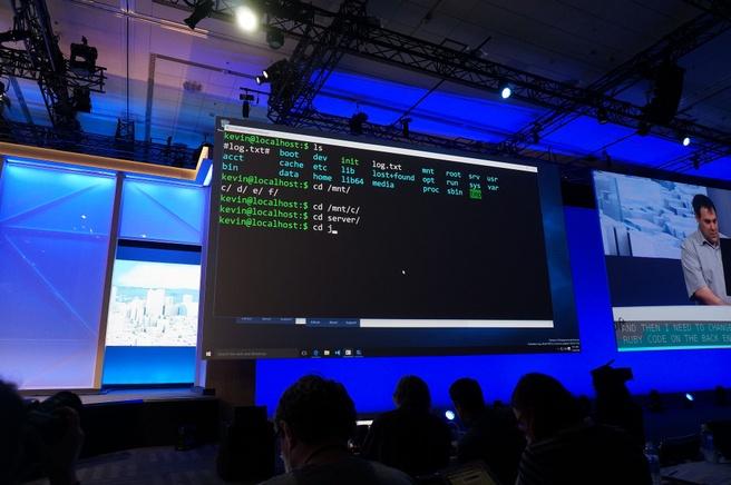 Windows Build 2016 Bash