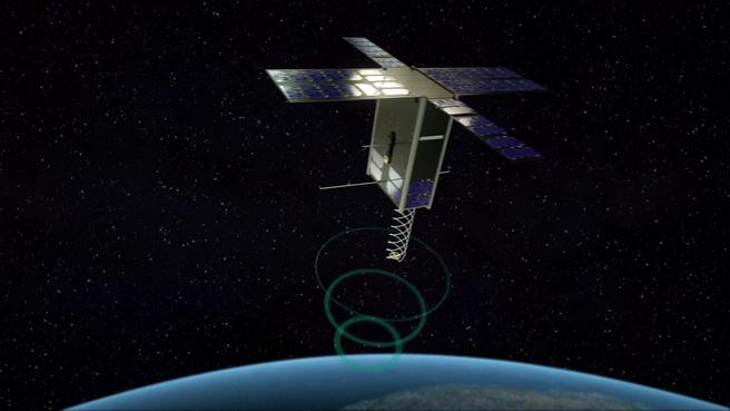 Hiber nanosatelliet