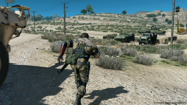 Screenshot uit Phantom Pain