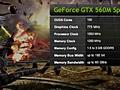 Nvidia GTX 560M GT 520MX sheets