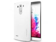 Goedkoopste Spigen Case Ultra Fit LG G3 SGP10860 (shimmery white) (G3) Wit