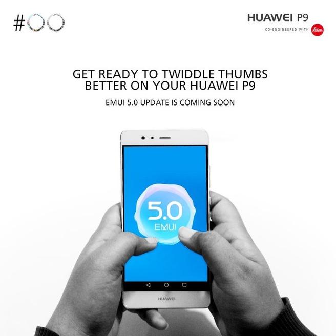 Huawei Nougat aankondiging