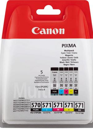 Canon PGI-570/CLI-571 MULTI PGI-570/CLI-571 MULTI