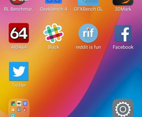 Screenshot Lenovo P2