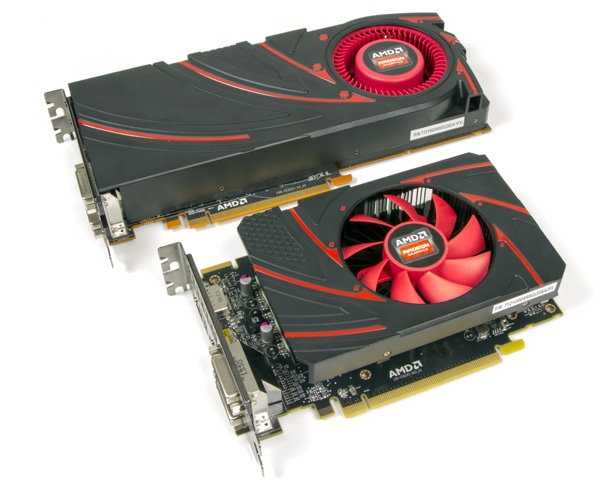 AMD R9 270X + R7 260X