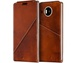 Goedkoopste Mozo Notebook flip cover for Lumia 950 XL Bruin
