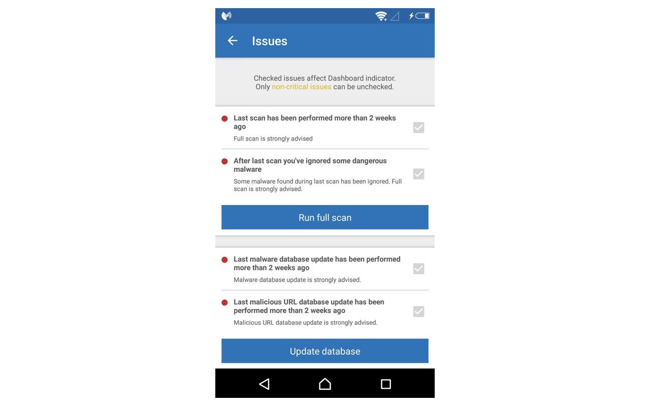 Malwarebytes Anti-Malware Mobile 2.0