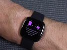 Fitbit Sense interface