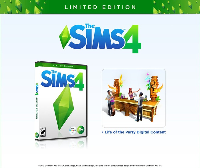 De Sims 4 Limited edition, Mac OS X, PC (Mac OS X, Windows)
