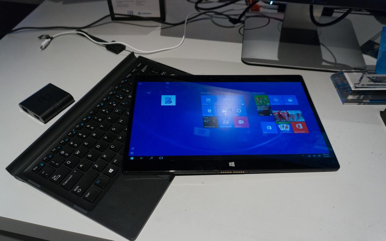 Dell Latitude 12 7000 2016 CES