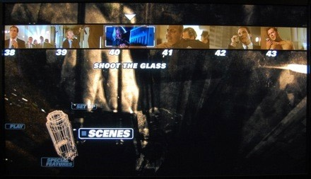 Scene Select-menu Die Hard