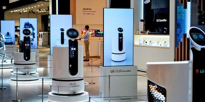 cloi robot winkelwagen