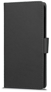 qMust Sony Xperia E5 Wallet Case - TPU frame - Black