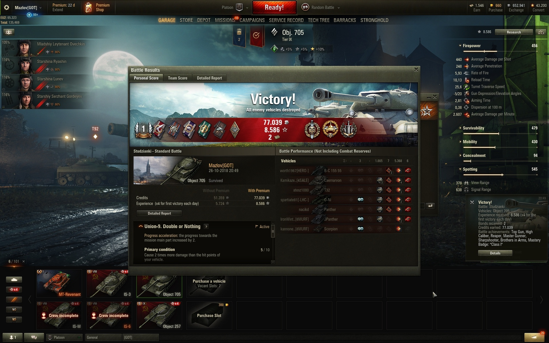 Matchmaking T37