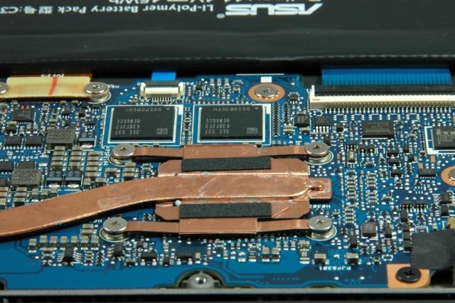 laptop binnen CPU detail