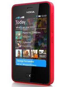 Nokia Asha 501 Rood