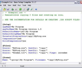 Inno Setup 5.1.7 screenshot (resized)