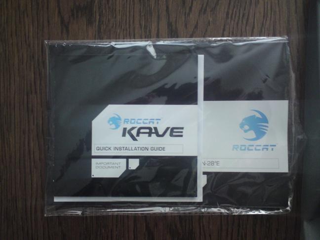 Roccat Kave - 3 - Doos inhoud