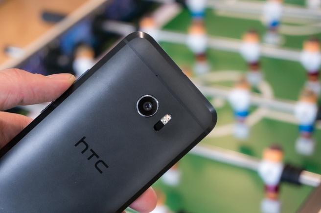 HTC 10 tafeltennis