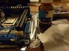 CPU schoonmaken met alcohol