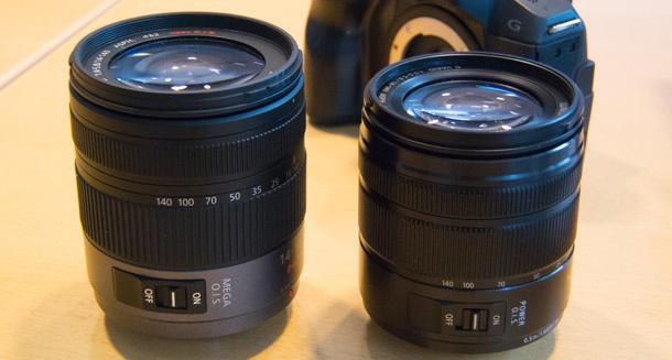 Panasonic Lumix 14-140mm lens nieuwe kleinere variant 610px