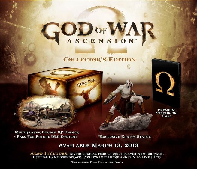 God of War: Ascension Collectors Edition PlayStation 3