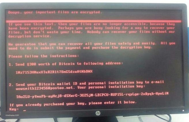 Maersk ransomware