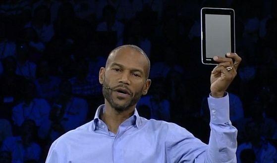 "7"" Windows-tablet Toshiba"