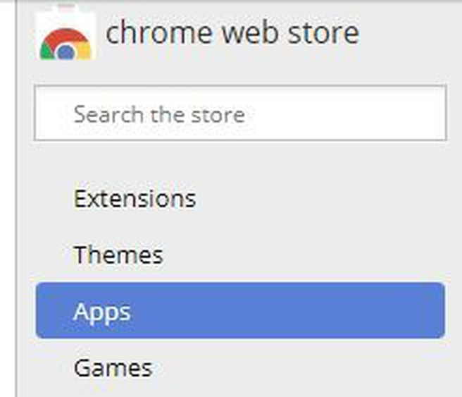 Chrome Web Store - apps