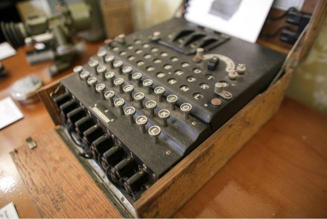 Enigma I van rommelmarkt Roemenië
