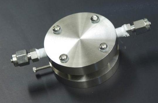 Prototype lithiumlucht-accu