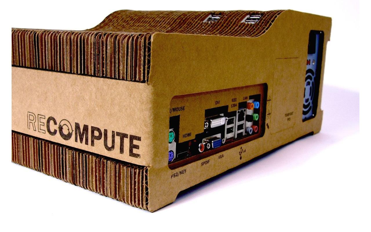 Recompute bouwt pc met kartonnen behuizing   computer   nieuws ...