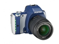 Goedkoopste Pentax K-S1 Fabric Collection Blauw