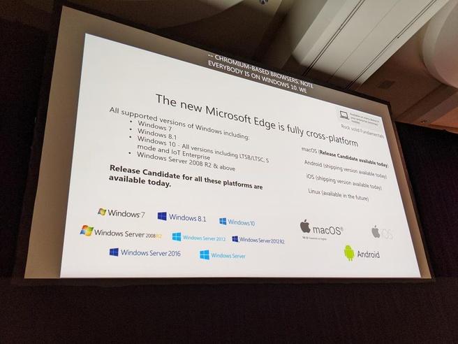 Edge op Linux - Foto: @zacbowden