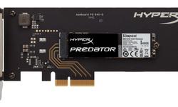 Kingston HyperX Predator pcie-ssd: snel maar niet de snelste