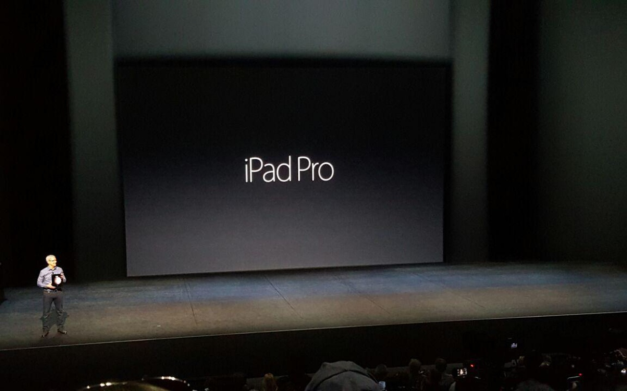 Apple iPad Pro op Apple-event 9-9-2015