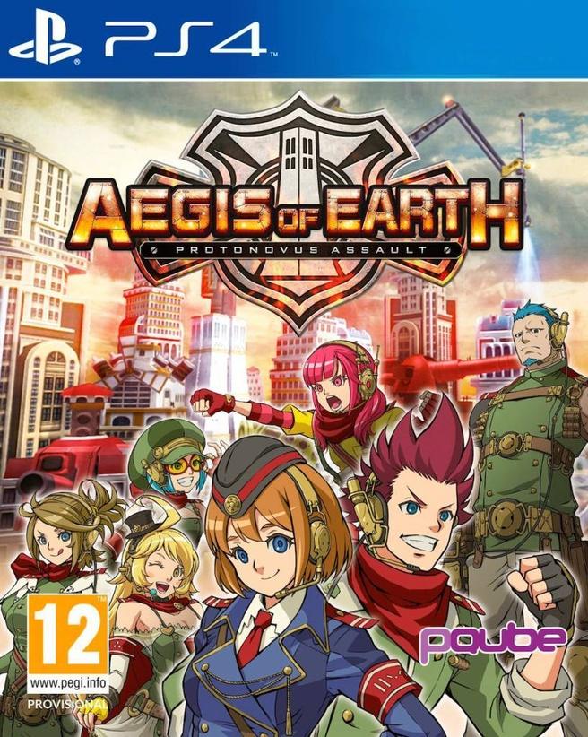 Aegis of Earth: Protonovus Assault, PlayStation 4