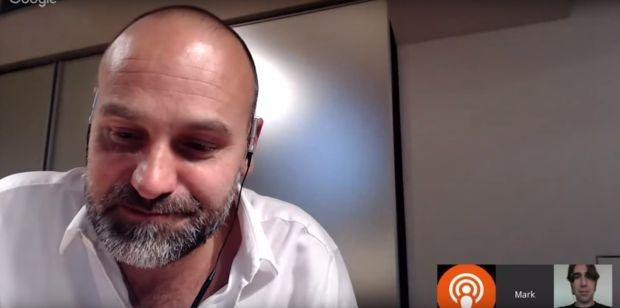 Mark Shuttleworth tijdens Ubuntu Online Summit