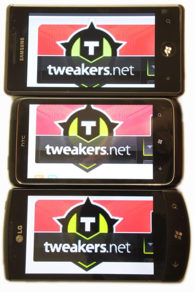 Windows Phone 7-toestellen