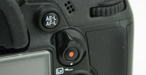 Nikon D7000 videoschakelaar
