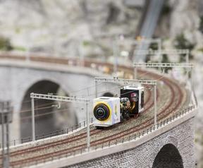 Voertuigjes voor miniatuurbeelden in Street View