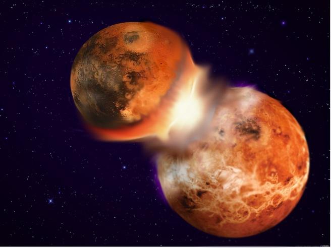 credit Hagai Perets maanvorming botsing planeetachtige lichamen planeet aarde